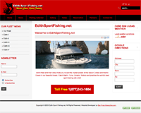 EdithSportFishing.net Sports Fishing Company Website