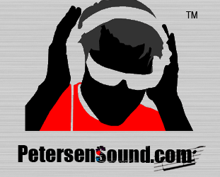 Music Production Company PetersenSound.com Logo PNG Image